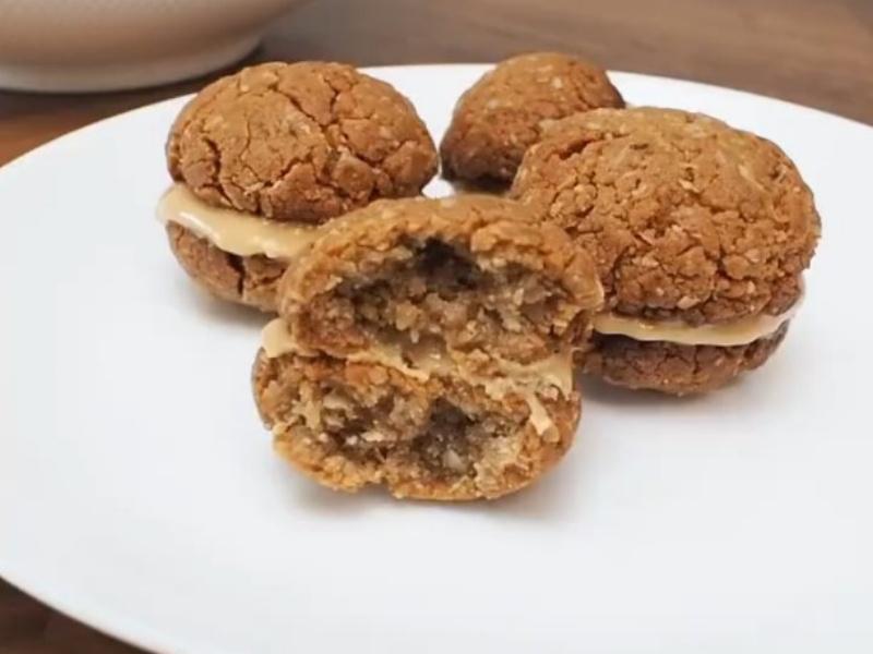 ПП печенье из арахисовой пасты
