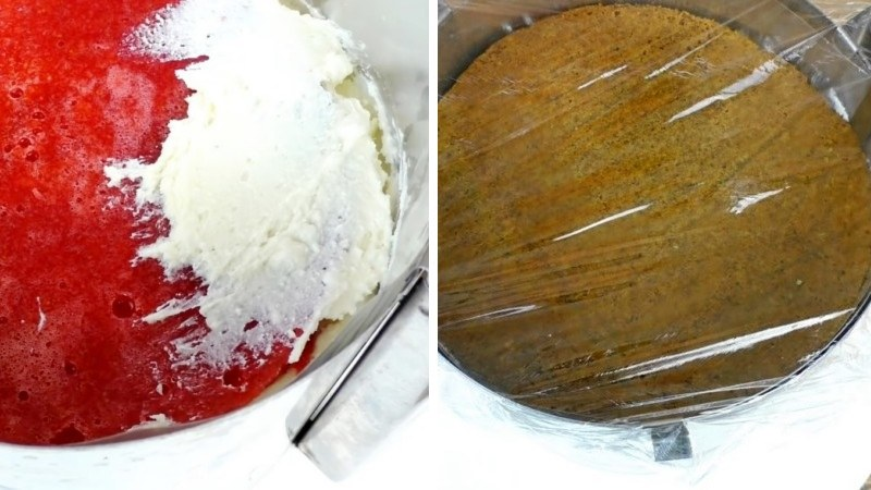 Шпинатный изумрудный торт с малиной рецепт