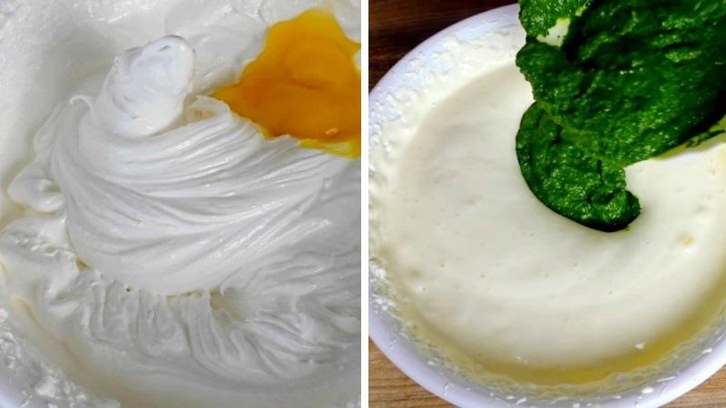 Изумрудный бисквит рецепт