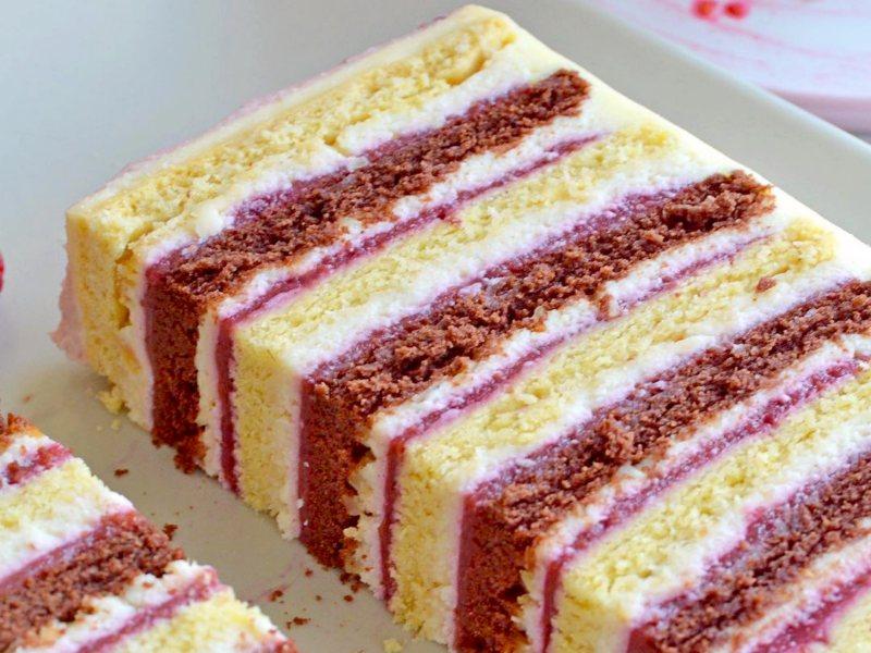 Песочный торт с ягодами рецепт