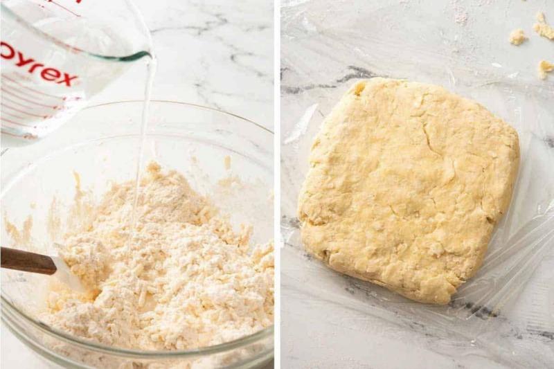 Торт Наполеон из слоеного теста рецепт