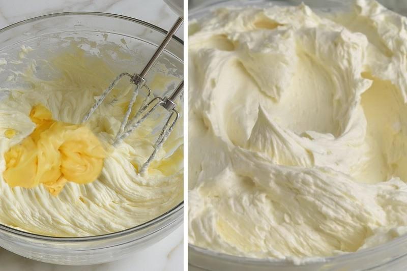 Заварной крем со сгущенкой и маслом рецепт