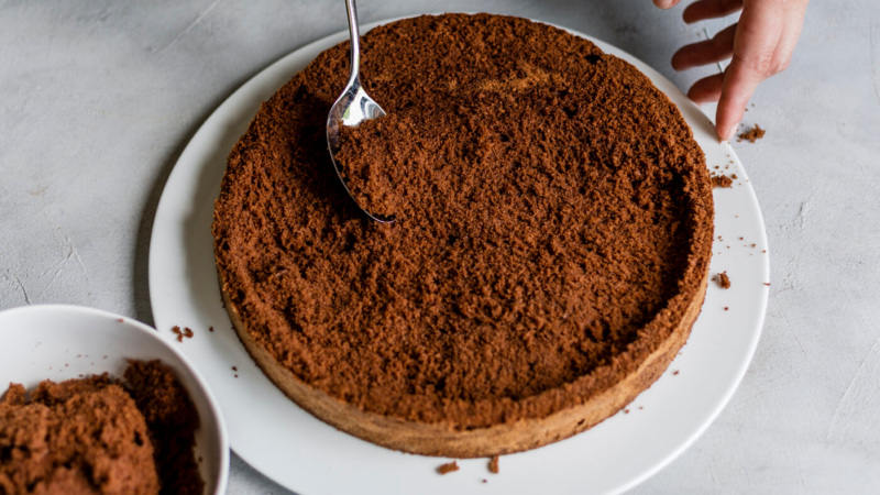 Торт норка крота простой рецепт с фото пошагово
