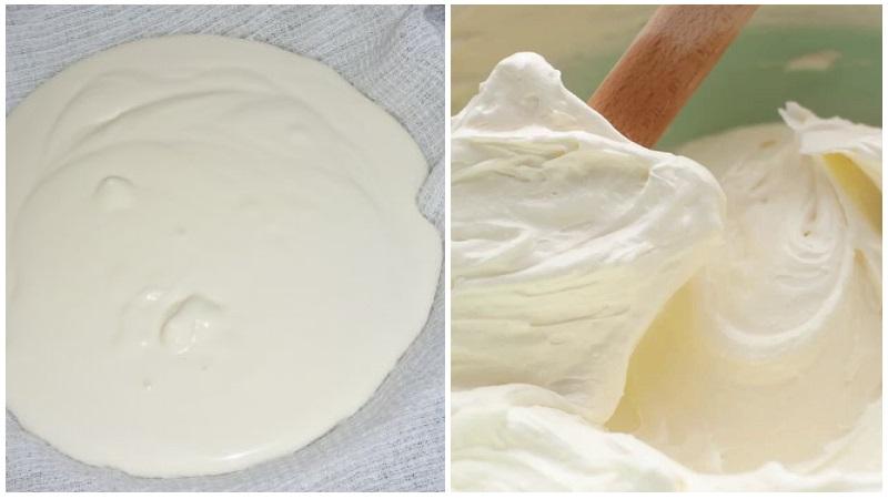 Сметанный крем для торта Зебра