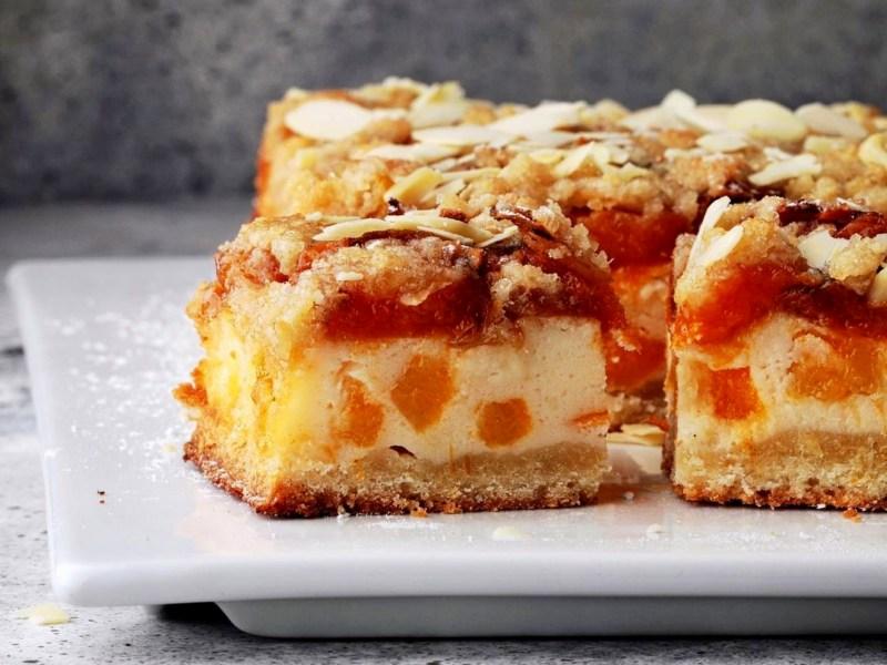 Песочный абрикосовый пирог рецепт