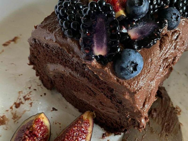 Бисквитный шоколадный рулет рецепт