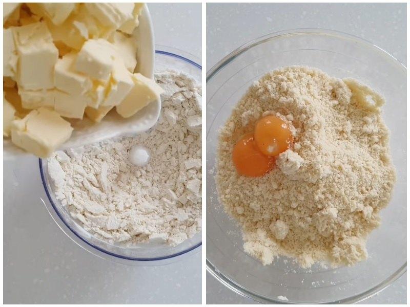 Основа для чизкейка с выпечкой и мусса с клубникой