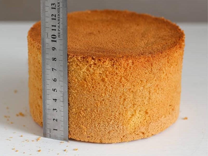 как сделать ванильный бисквит
