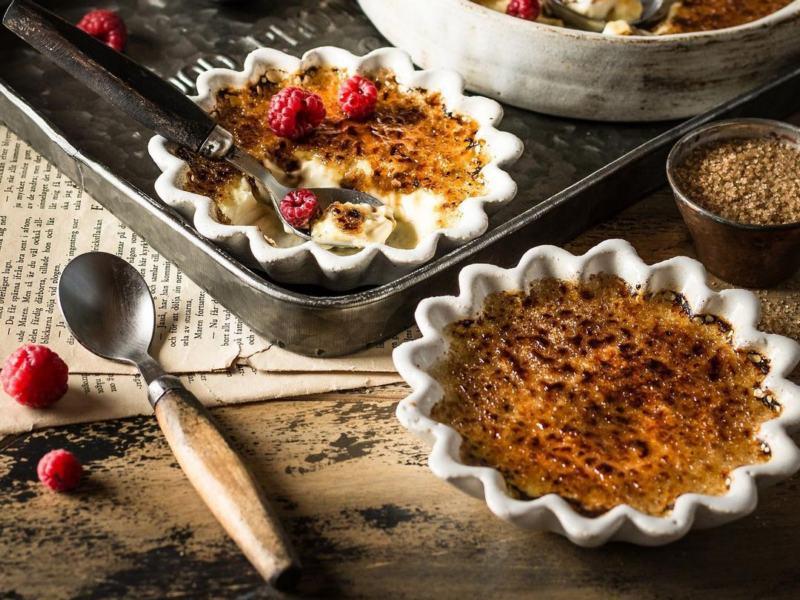 как приготовить десерт крем брюле