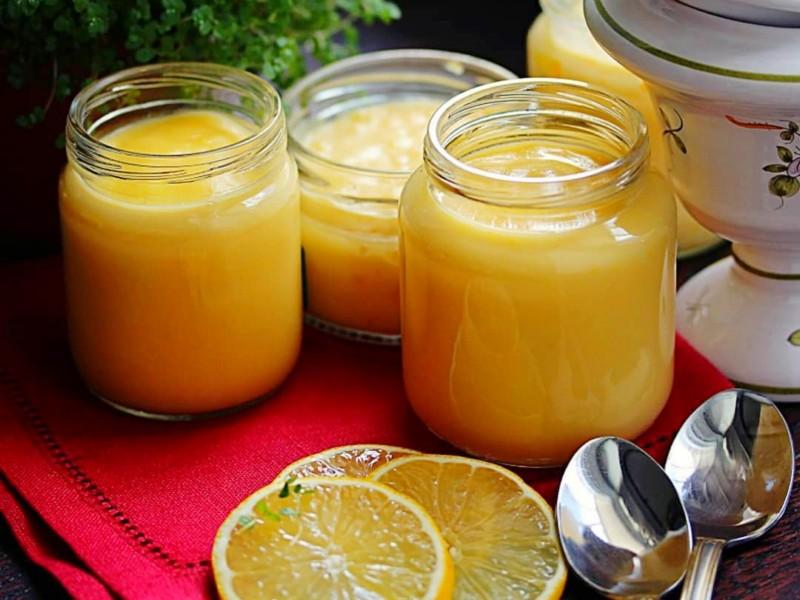 Лимонный кето курд