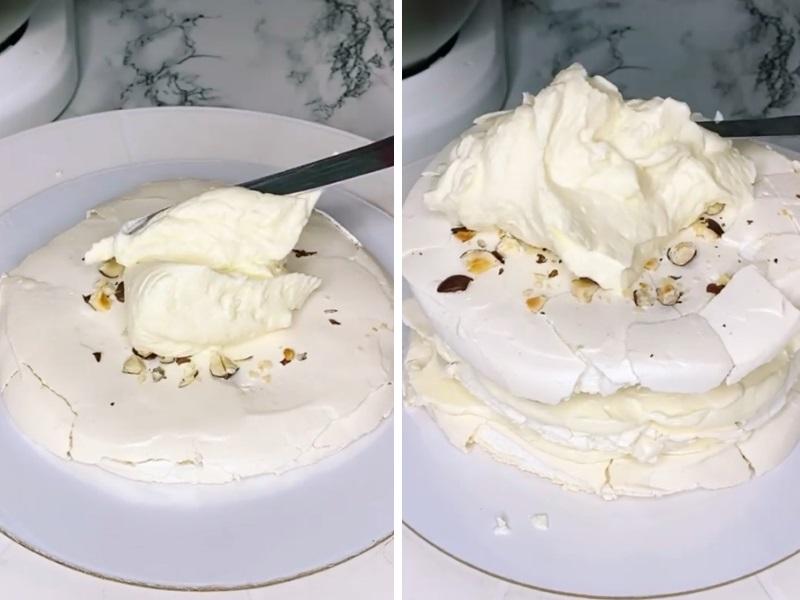 меренговый торт рецепт с фото пошагово