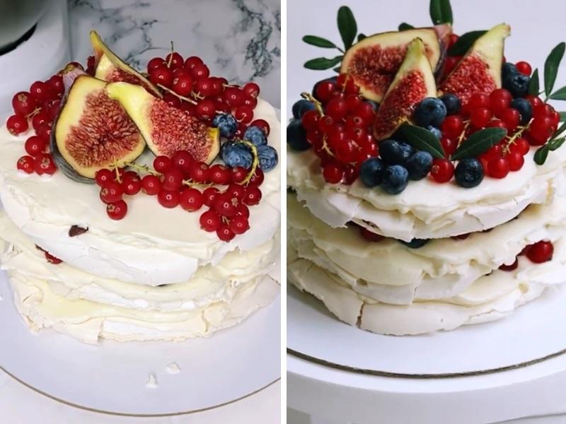 рецепт меренгового торта в домашних условиях