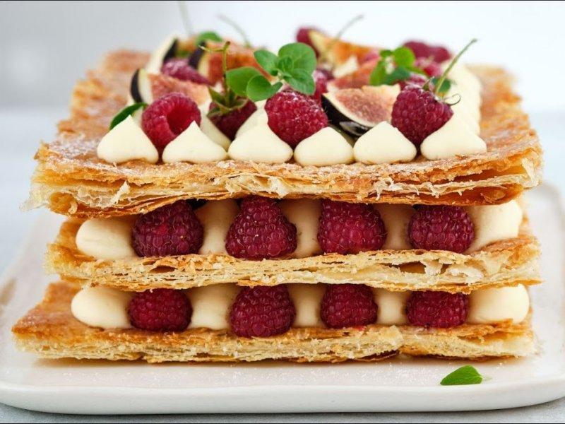Пирожное торт Мильфей рецепт