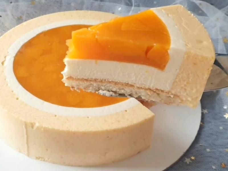 Персиковый муссовый торт рецепт