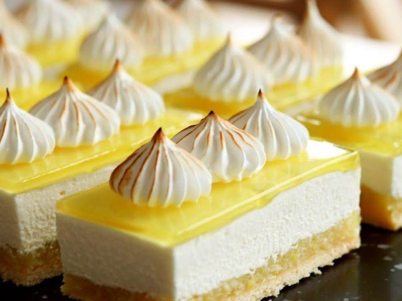 Нарезные пирожные лимонные рецепты