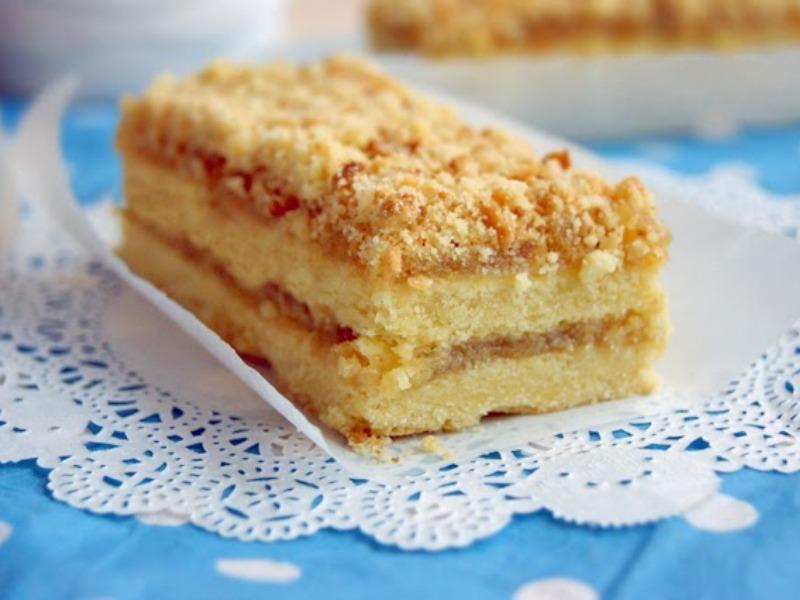 Песочное пирожное с повидлом как в детстве рецепт