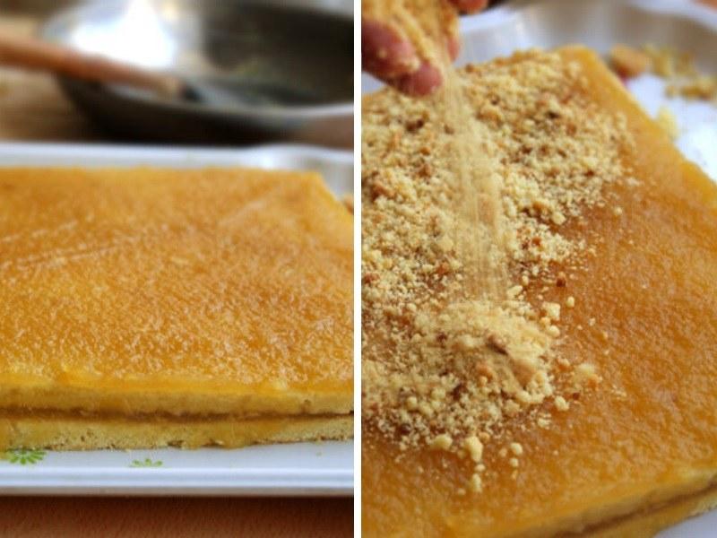 Песочное пирожное с повидлом рецепт пошагово с фото