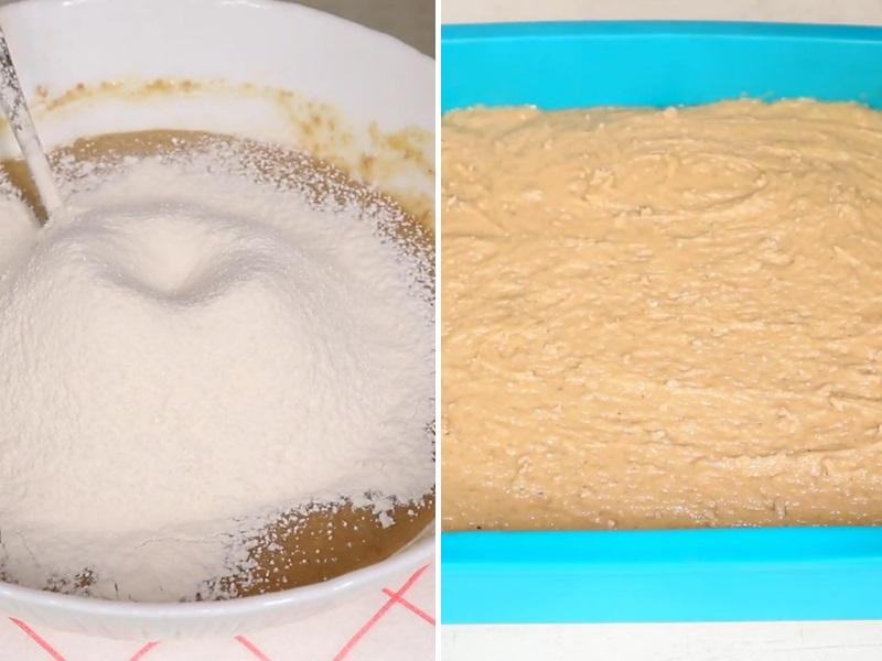 Рецепт пирога с халвой пошагово с фото