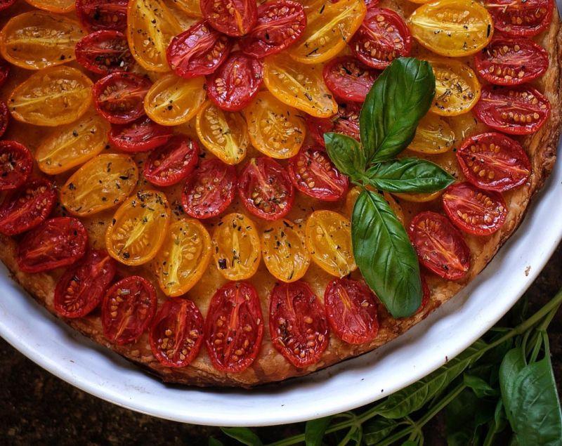 томатный тарт