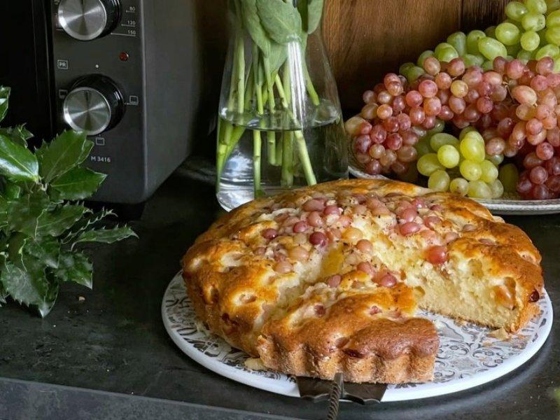 Пирогом с виноградом рецепт в духовке