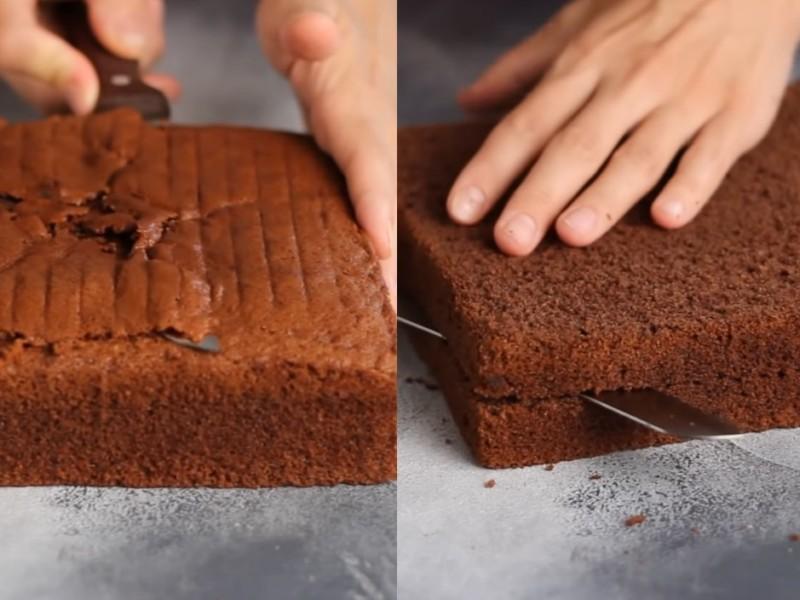 Бисквит для нарезных пирожных