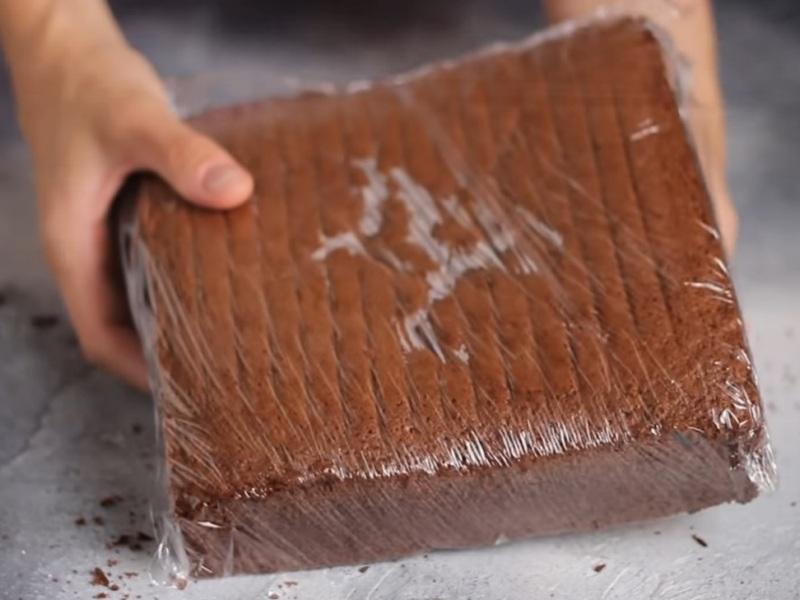 Шоколадный бисквит рецепт для пирожных