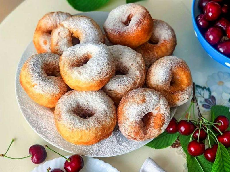 Домашние пончики Донатс - рецепт