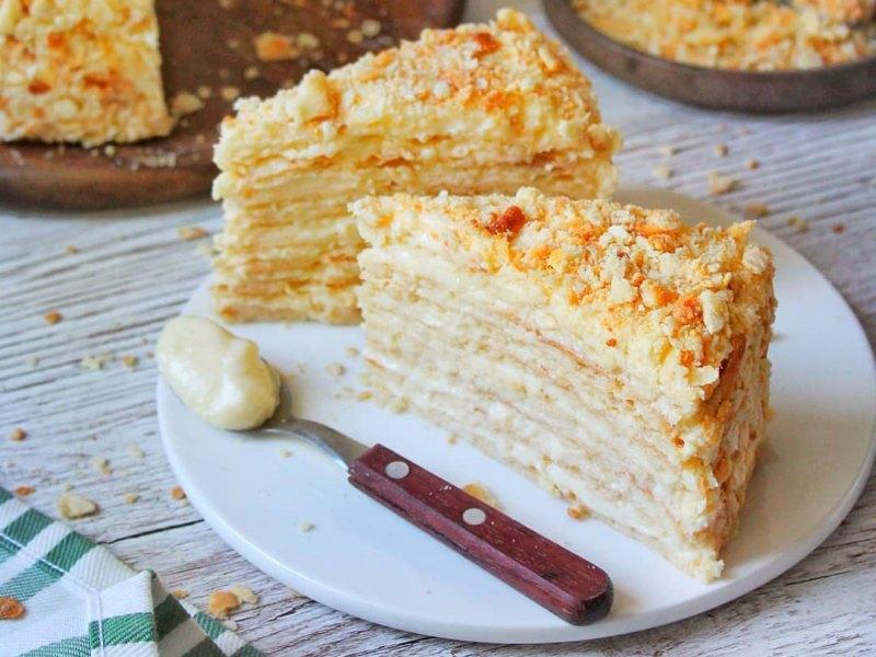 Самый вкусный торт Наполеон рецепт