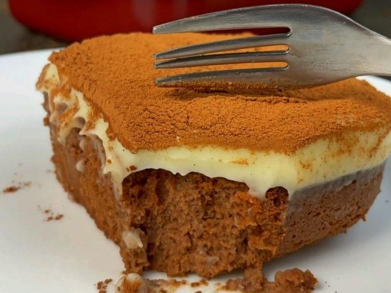 Шоколадный влажный турецкий кекс