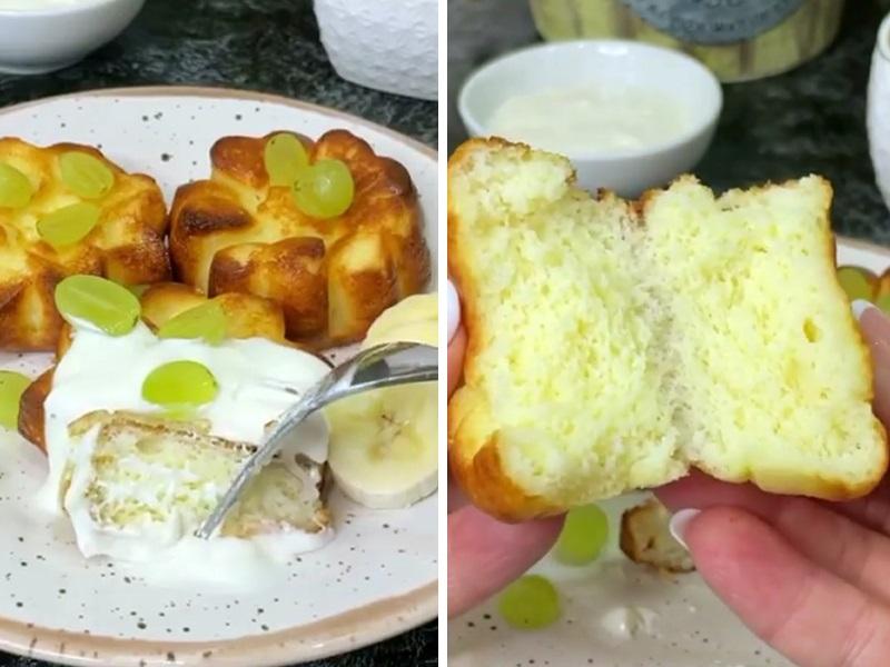 Пышные сырники в духовке из творога с манкой - рецепт