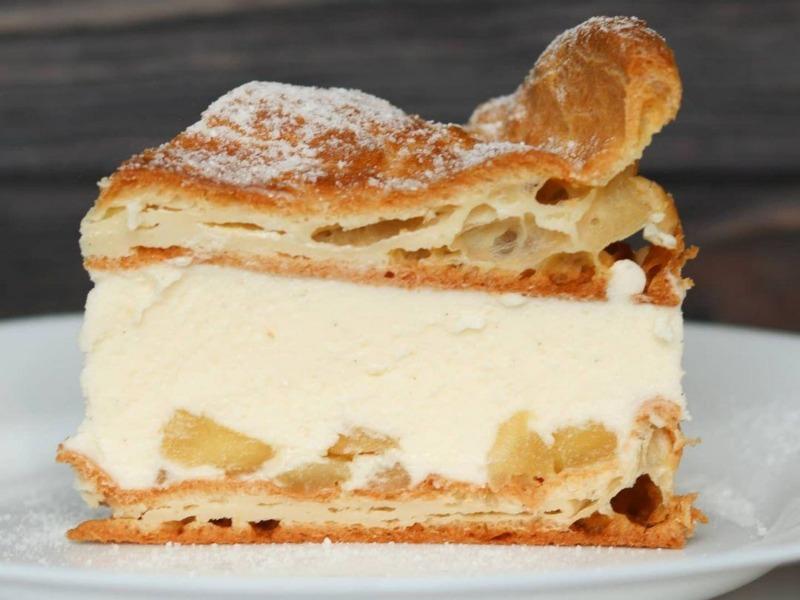 Торт Карпатка из заварного теста рецепт