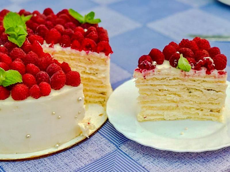Торт Молочная девочка рецепт с Маскарпоне