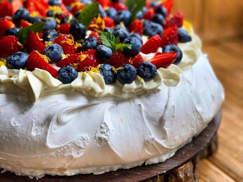 Торт Павлова с Маскарпоне рецепт