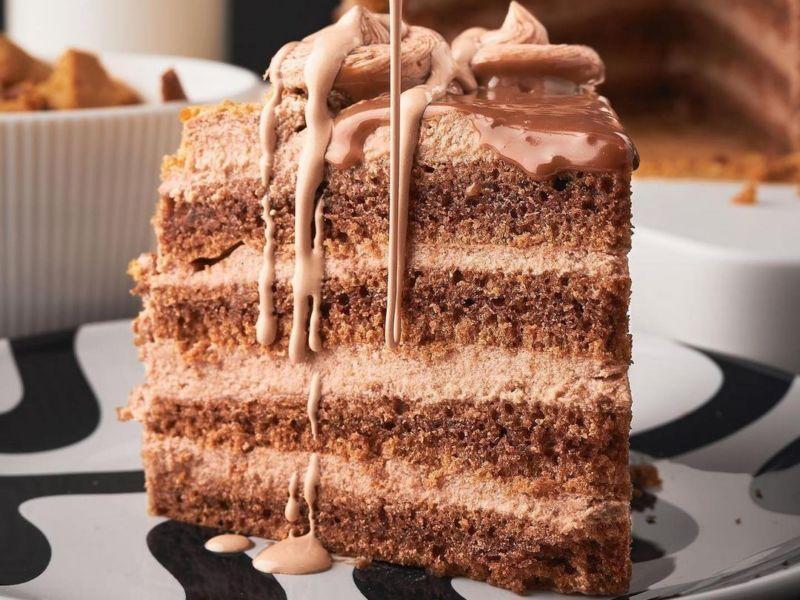 Шоколадный вкуснейший торт Прага простой рецепт