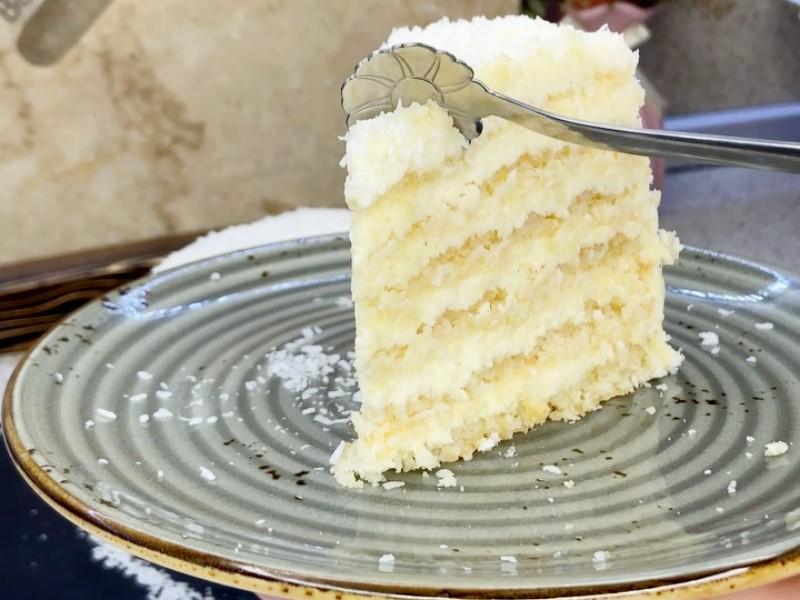 Торт Рафаэлло с кокосовыми коржами