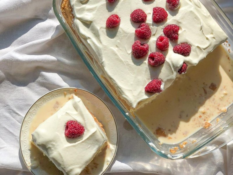 Турецкий десерт Трилече три молока рецепт