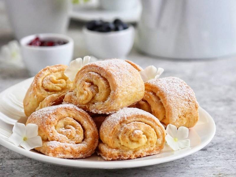 Творожные булочки рецепт без дрожжей