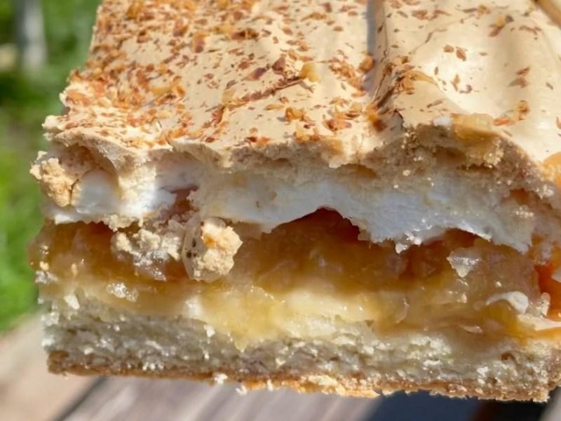 Яблочный пирог с меренгой рецепт самый лучший