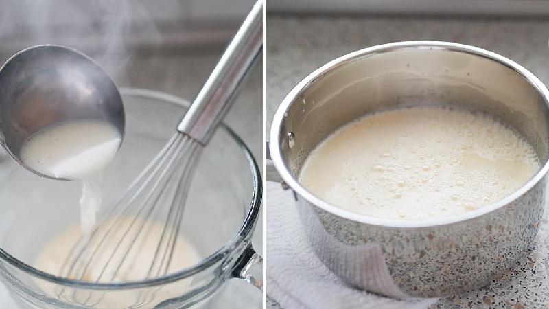 Рецепт заварного крема для Наполеона классический