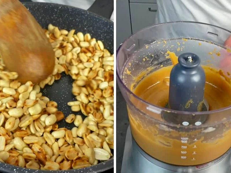 Арахисовая паста для Чизкейка без выпечки