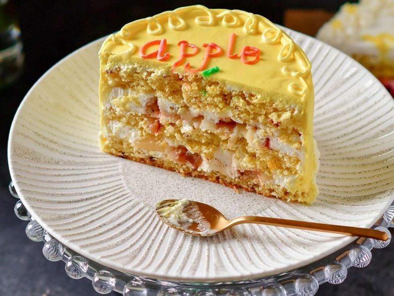Бенто торт рецепт яблоко в карамели