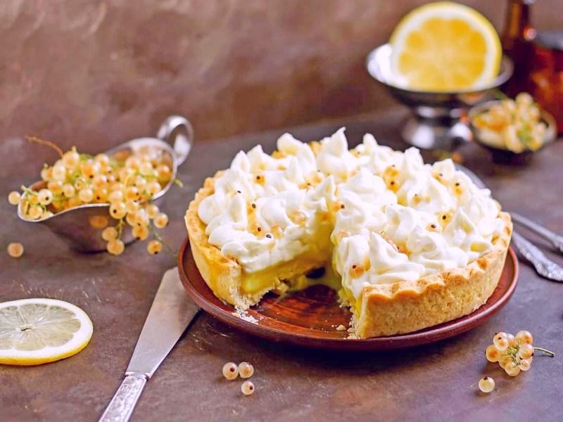 Лимонный тарт рецепт
