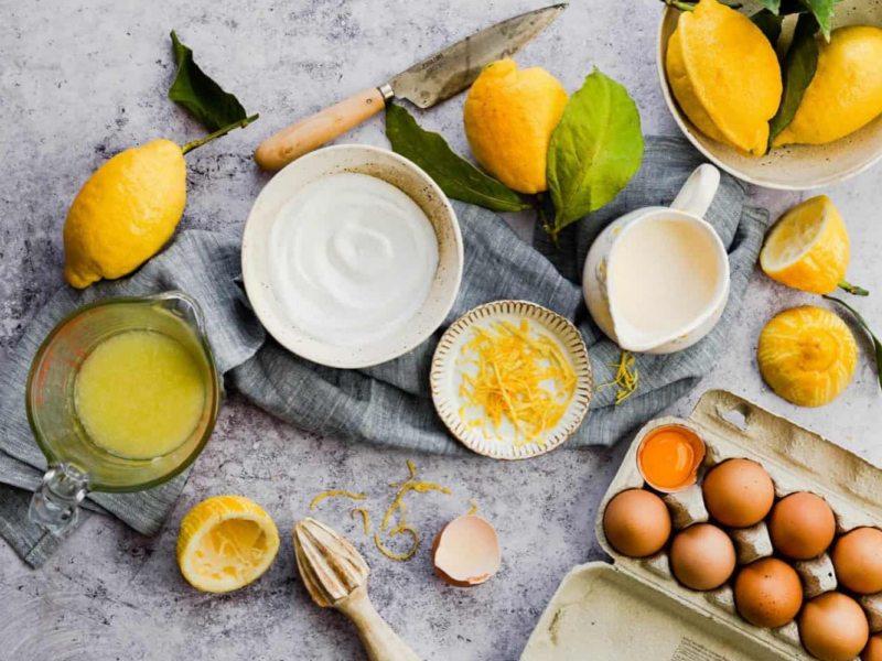 Лимонный курд для тарна с Меренгой рецепт