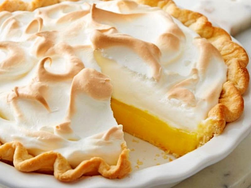лимонный тарт рецепт приготовления