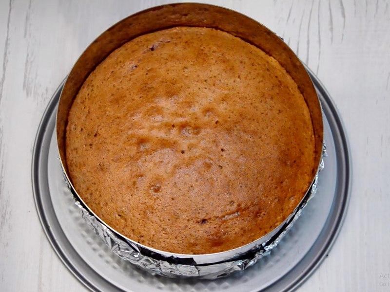 Ягодный бисквит рецепт
