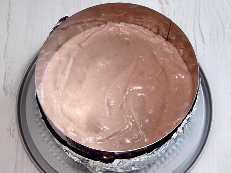 Малиновый бисквит рецепт пошагово