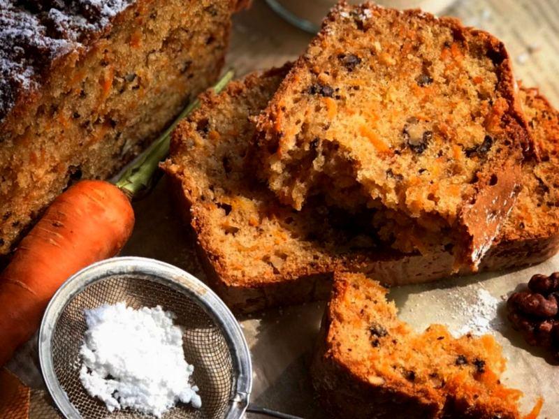 ПП Морковный кекс - рецепт