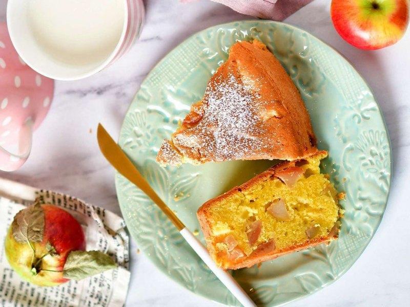 Немецкий Яблочный пирог рецепт в домашних условиях