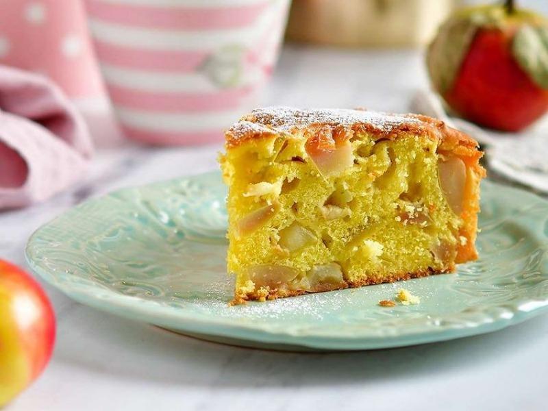 Немецкий Яблочный пирог рецепт пошагово
