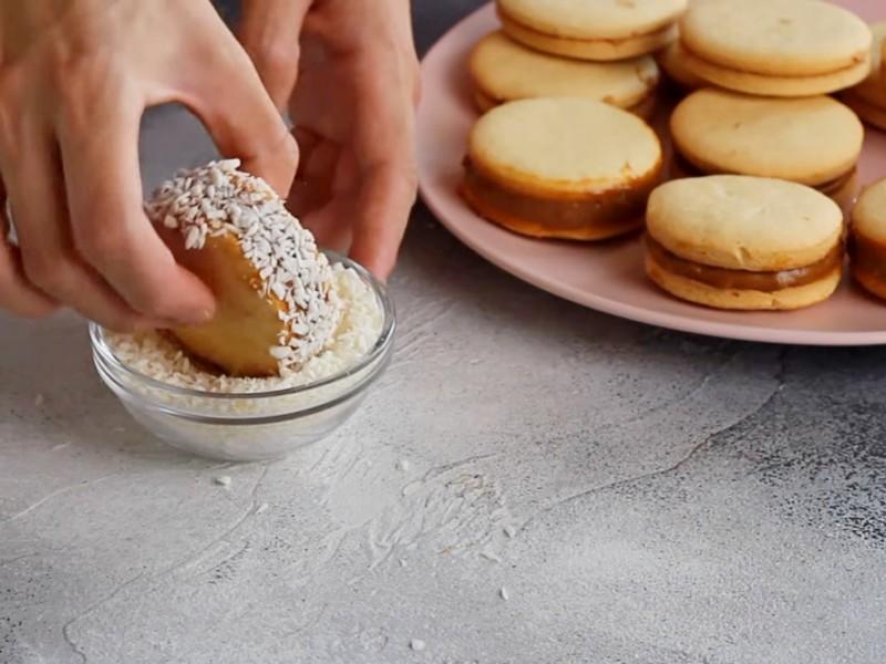 Печенье-сэндвич рецепт